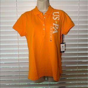 NWT US Polo ASSN collar Shirt